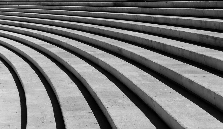 Full frame shot of empty staircase