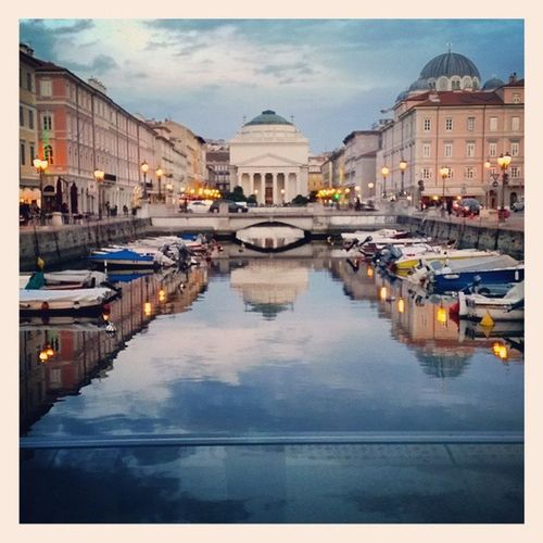 Trieste Italy Love Photooftheday Canals City Art Architecture Sightseeing Tarekislove