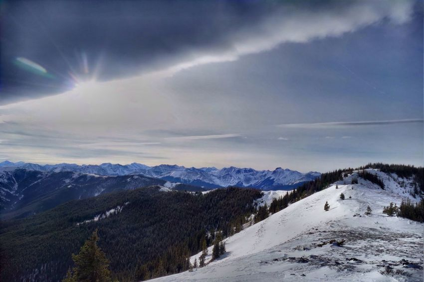 What's On The Roll Angled sky. The Roll filed this under 'Sun'. Mountains And Sky Chinook Chinook Arch Hiking