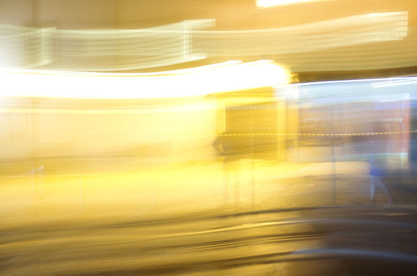 Blurred Blurred Motion Lisbon Streets Lisbon Tram Long Exposure Motion Moving On The Move Public Transportation Rail Transportation Transportation Yellow