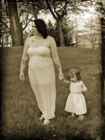 Norton Wedding Day Adorable Baby Black Black And White Ceremony Child Daughter Dress Family Females Grass Holding Hands The Portraitist - 2016 EyeEm AwardsMother Mother Daughter  Motherhood Steps Toddler  Trees Walking Wedding Wedding Day Wedding Photography Wedding Pictures White