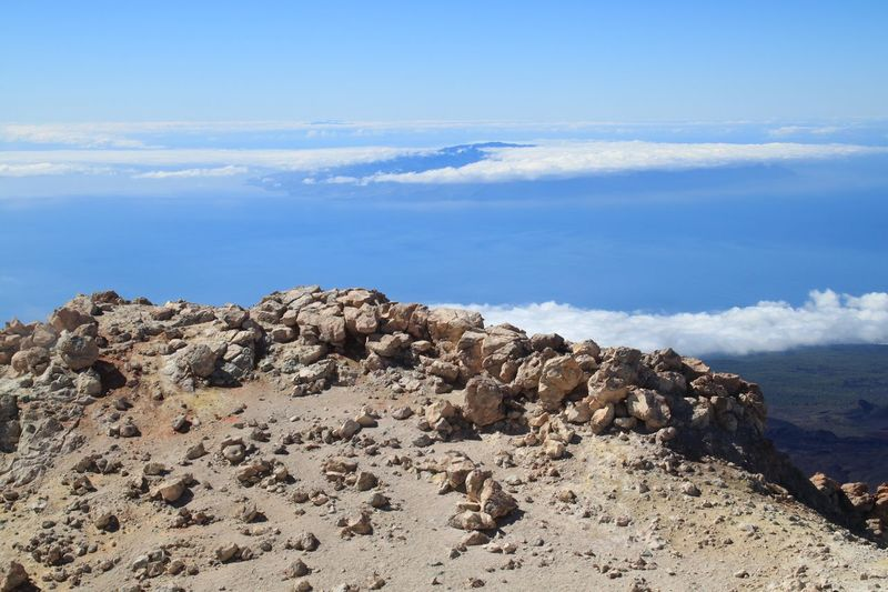 Tenerife Teide Top Of Teide Top Of The Mountain Top Of The Volkano Rocks The KIOMI Collection Blue Wave Stones Nature Volcano Teide National Park