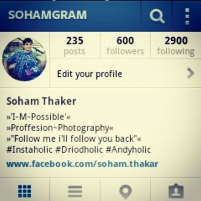235 Posts, 600 Followers, 2900 Following. A New Landmark.