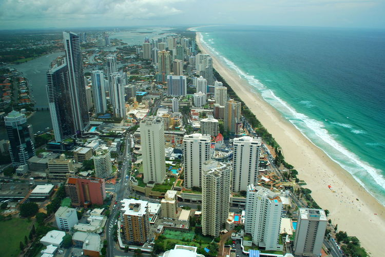 Surfers Paradise aerial view. Queensland, Australia Aerial Photography Aerial Shot Aerial View Aussie Australia Australian Cityscape Downunder Pacific Ocean Queensland Queensland Australia Skyscrapers Surf Surfer Surfers Paradise Tourism Australia Travel Travel Photography Travelphotography