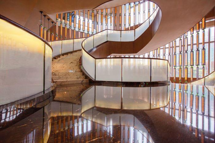 好心情(1) EyeEm Selects Architecture Built Structure Staircase Steps And Staircases Railing No People