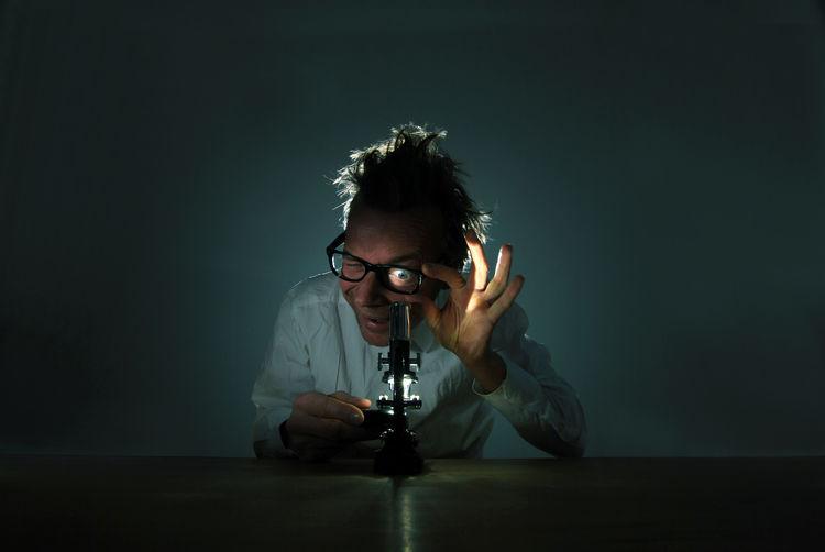 Auge Leben Linse Mikroskop Technik  Wissenschaft Bildung Biology Detail Forscher Forschung Interesse Vergrößerung