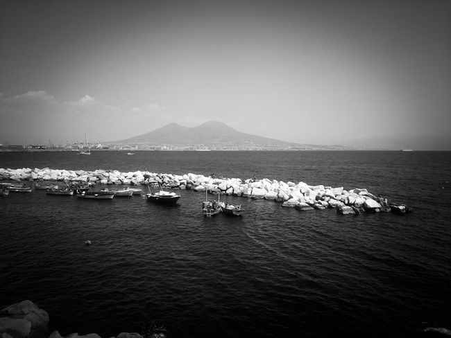 Napoli Vesuvio Beauty In Nature Day Nature No People Outdoors Scenics Sea Sky Tranquility Volcano Water