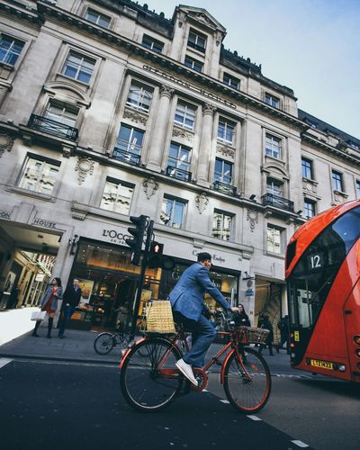 Spring in London streets Bicycle Architecture Fashion City Outdoors Day Bus London London Lifestyle Streetphotography Lithuanian Street Photography