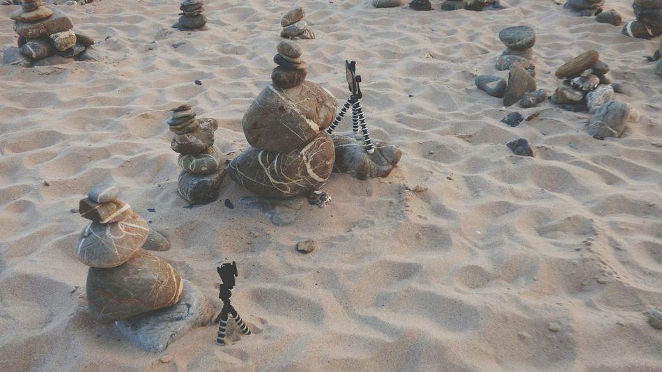 EyeEm Selects My Equipment Asus Zenfone 2 Laser Asuszenfone2laser Sjcam M20 Tripods My Stuffs Filming Equipment Zen Rocks Sand Beach