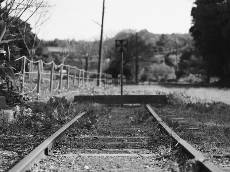 小湊鉄道 上総中野 Japan Japan Photography Railroad Track Rail Transportation Day Transportation Outdoors No People Nature Sky