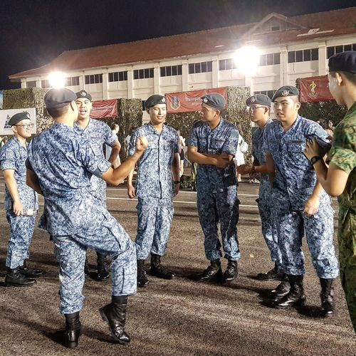 Passing Out Graduation Sembawang Camp Bmt Sept 2017 My Son Sg_streetphotography Streetphotography Airforce Basic Military Training After Graduation Singapore