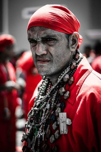 People Adult Only Men Portrait Fan - Enthusiast Outdoors Close-up Yare DiablosDansantesDelYare Diablos Folklore Venezuela Venezuela_captures Cultural Tradition Tradición