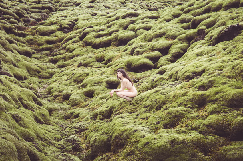 Days of travel: 7 - Eldhraun Lava Field in Suðurland, Þjóðvegur 1 Iceland Moss & Lichen Nude-Art Adult Beauty In Nature Day Green Color Hairstyle High Angle View Iceland Trip Iceland_collection Icelandic Leisure Activity Lifestyles Moss Nature Nude_model Nudeartphotography One Person Real People Tranquility Vacations Water Women Young Adult The Traveler - 2018 EyeEm Awards The Great Outdoors - 2018 EyeEm Awards The Creative - 2018 EyeEm Awards