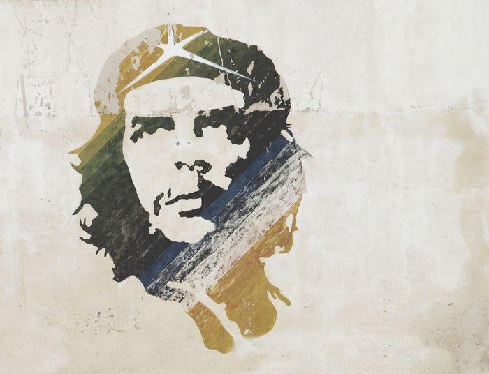 Che Guevara Che Guevara Che Guevara Painting Murales Graffiti Cuba Comunism Socialism FidelCastro Fidel Art Cuban