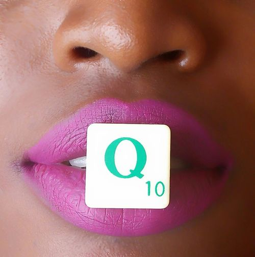 Quarrelet.. Small Square i love Scrabble 🙌 Model Beautiful Creative Art Pink Lips