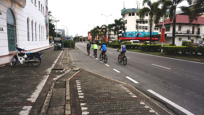 Bicycle Cycling 16-50mm Lens Kota Kinabalu City New Generation Photographer Sabah Below The Wind Sony NEX A6000 Kota Kinabalu Sabahan Photography Malaysia Photography