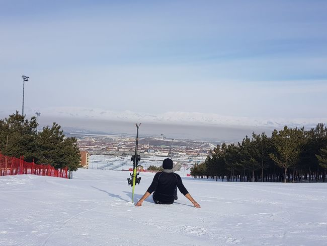 Palandoken mountain, Erzurum, Turkey Erzurum Skiing Snowboarding Beauty In Nature Cold Temperature Day Full Length Leisure Activity Lifestyles Mountain Nature One Person Outdoors Palandoken Real People Ski Ski Holiday Skiing Sky Snow Sport Sway Hotel Tree Winter Winter Sport