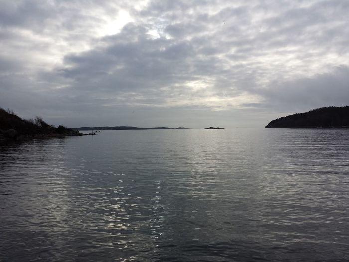 sea Water No People Beauty In Nature Cloud - Sky