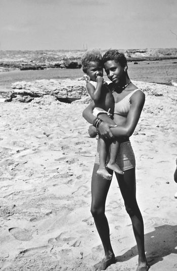 Bnw_friday_eyeemchallenge Together Mother Daughter Caboverde Africa Blackandwhite Women Who Inspire You Women Around The World This Is Family