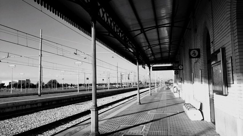 Bari Policoro Train Station Reminds Me Of Something Reminds me that I'm Lonely