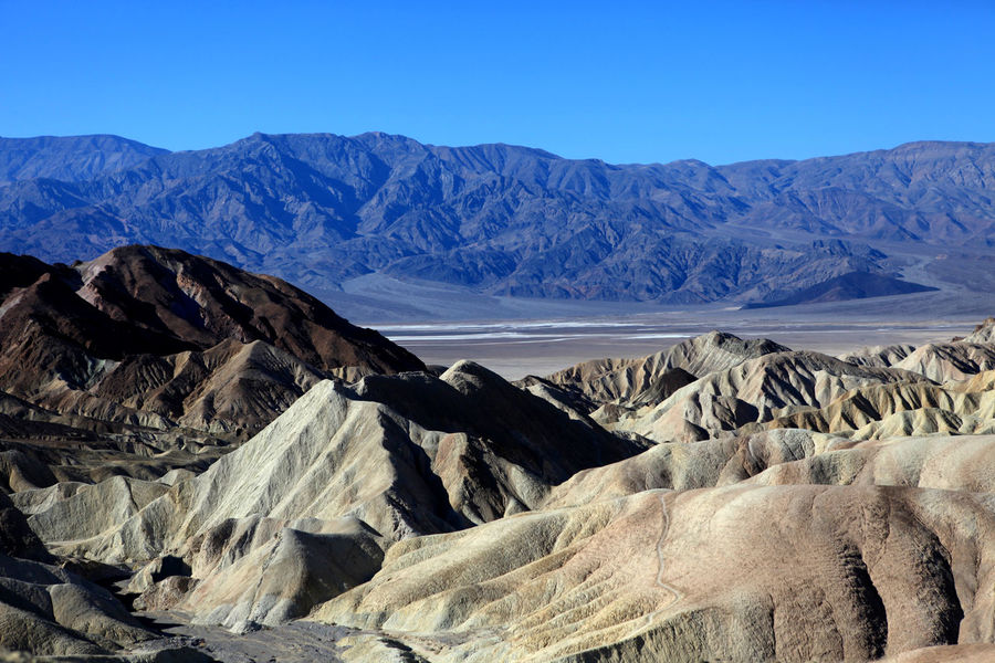 Zabriskie Point Death Valley Beauty In Nature Landscape Loneyplace Mountain No People Outdoors Physical Geography Zabriskie Point California Dreamin