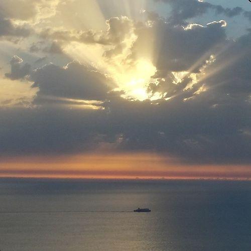 Τα ειπε κ ο Μαζωνάκης...like here nowhere... Greeksummer Greeksunset Sunset Lefkada