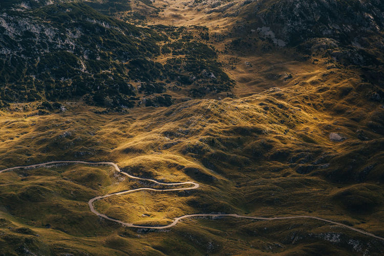 Road through the mountain Durmitor EyeEm EyeEm Best Shots EyeEm Nature Lover EyeEmNewHere Road Beauty In Nature Canon High Angle View Landscape Mountain Nature Scenics Tranquility