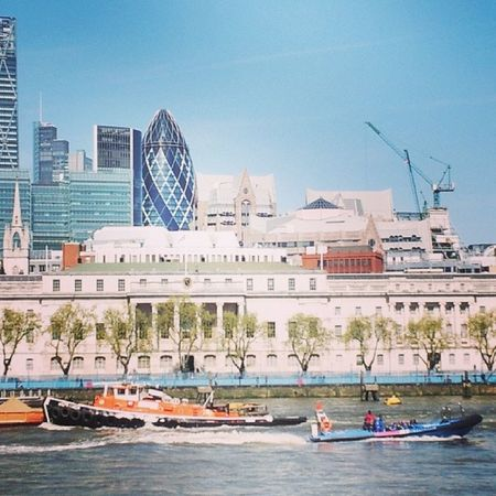 Riverside Rivers Riverthames Thegherkin London Londonbridge Water Waterlove Buildings City Sky Skylove Boats