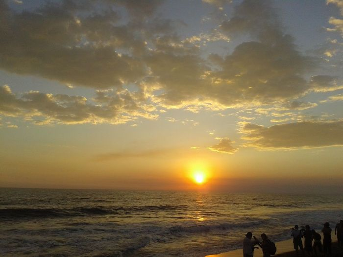 Beachphotography Beauty In Nature Horizon Over Water Sunlight Sea Travel Destinations Monterricobeach Guatemala