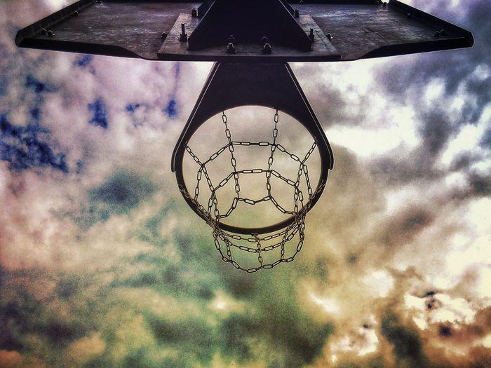 Cock-A-Hoop... Sport Basketball Basketball Court Basketball Hoop Park Parklife Summer Summertime British Summer British Summertime