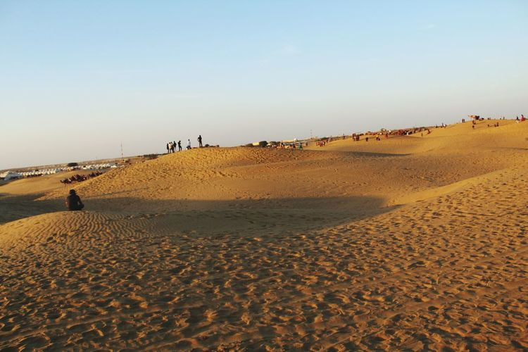 Sand Dunes Sand Dune Outdoors Sand Dunes Thar Desert