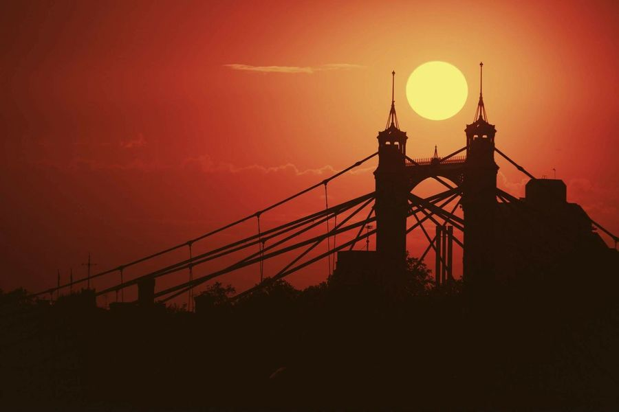 Sunset London LONDON❤ London_only Sunsets Sun Canon 5d Mark Lll Canon 70-200 F2.8 L IS-II Tenerife Canarias