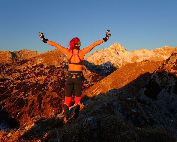 💃💃💃happy 2017💃💃💃Julijske Alpe Triglav National Park Triglavskinarodnipark Triglav Visevnik Karitraa Sunrise_sunsets_aroundworld Sunrise_Collection Sunrise Hiking❤ Hiking Adventure Arms Outstretched 💪💪🌞🌞life Is Better In The MountainS🌞🌞💚💚 Workhardplayharder
