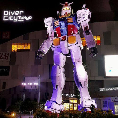 Hey there! 😅😅 Gundam Tokyo,Japan Night In Odaiba Full Size AnnelGomez The Traveler - 2015 EyeEm Awards Travel Eyeempinay Samsung Galaxy Note 4