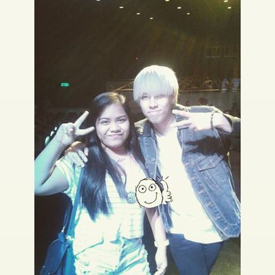 For the first time in forever nga naa ko'y picture kuyog akong crush. ♡♥ Heaven Crush POTD Cebukpopcon
