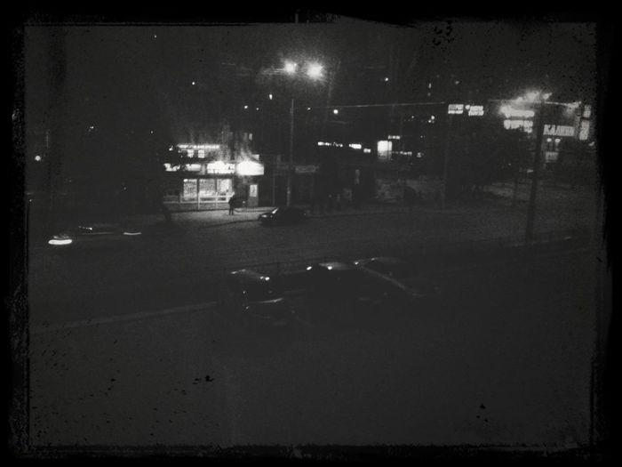 Немного тленного ночного города