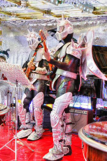 Band Futuristic Gaudy Japan Japanese Culture Music Outrageous Psychedelic Robot Robot Restaurant Robot Show Tokyo
