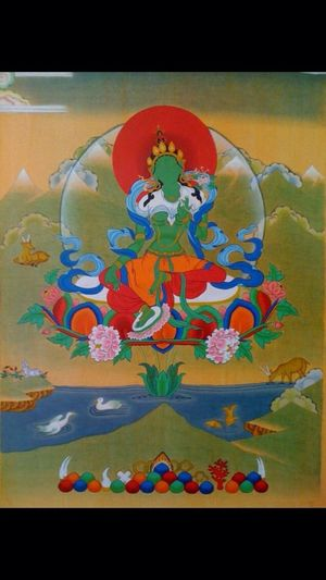 Green Tara good luck to everyone!