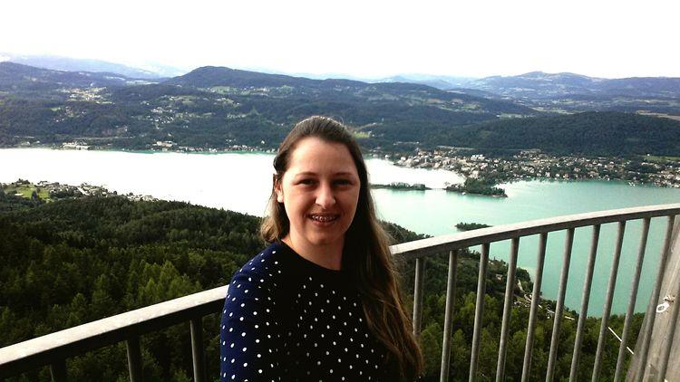 Conhecendo a melhor vista de Klagenfürt...