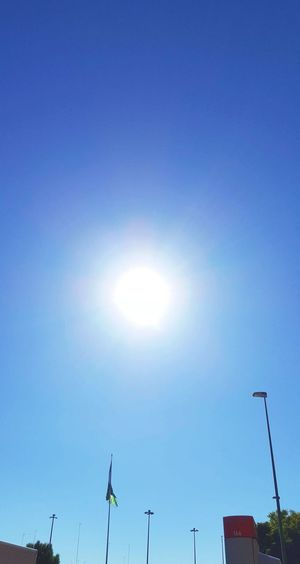 Sun Clear Sky Sky No People Outdoors Day Midday Sunlight Sunlight In Sevilla The City Light