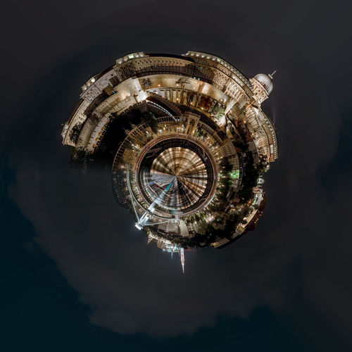 Little planet 360 degree sphere. Panoramic view of Budapest architecture. Hungary 360 Degree Architecture Buda Castle Budapest, Hungary Castle Circle City Cityscape Exterior Hungary Night Lights Panorama Panoramic Skyline Sphere TOWNSCAPE Europe Illuminated Landscape Night Outdoors Planet Three Dimensional Three Dimentional Photography Urban Skyline