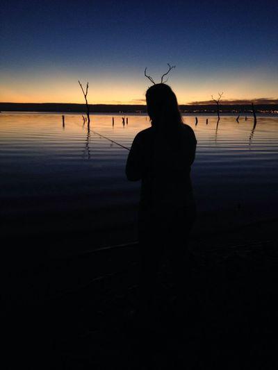 Nascer do sol em Palmas-TO-Brasil, às margens do Rio Tocantis. Riotocantins Lagodepalmas Pesca Pescaesportiva Nascerdosol Amanhecer First Eyeem Photo
