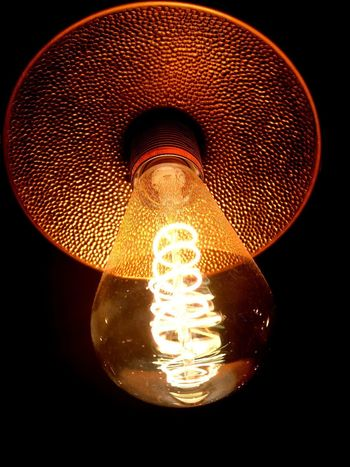 Lighting Equipment Illuminated Electricity  Light Bulb Red Filament Black Background Close-up Technology Indoors  HUAWEI Photo Award: After Dark