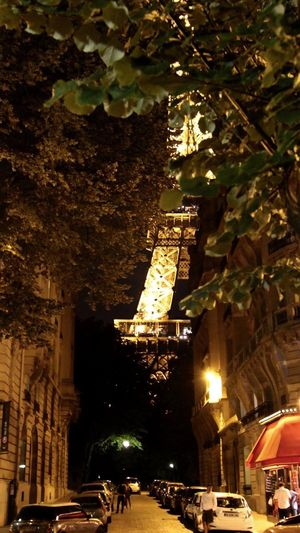 Midnight in Paris Illuminated Architecture Paris Paris Je T Aime Romantic Place City Romantic TourEiffeil First Eyeem Photo