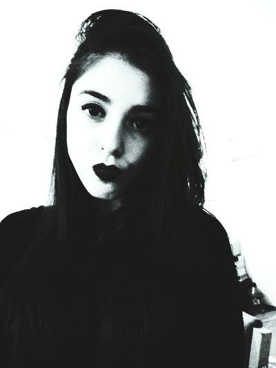 Turkey That's Me Blackandwhite Girl Beautiful Hello World Selfie Lips Relaxing Boring