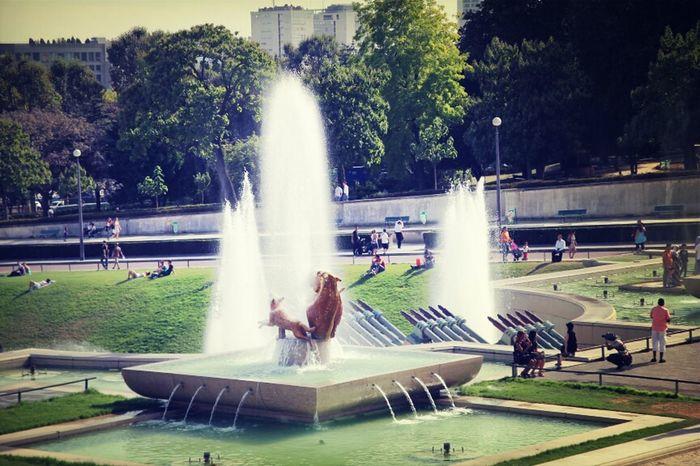 Paris Fountain Trocadero