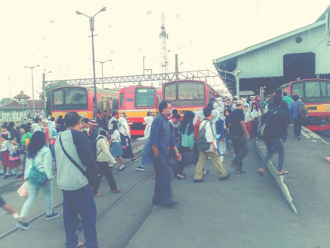 Public Transportation Mobile Photography Wonderful Indonesia Train in Bogor