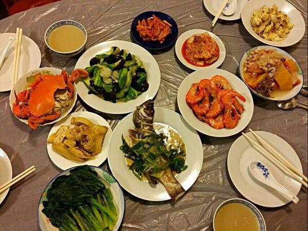 Happy :) Homemade Dinner Enjoying A Meal Food Porn