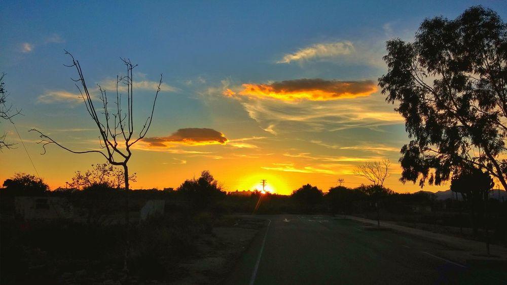 Atardecer en Muchavista, El Campello, Alicante. EyeEm Nature Lover Streamzoofamily Landscape EyeEm Best Shots