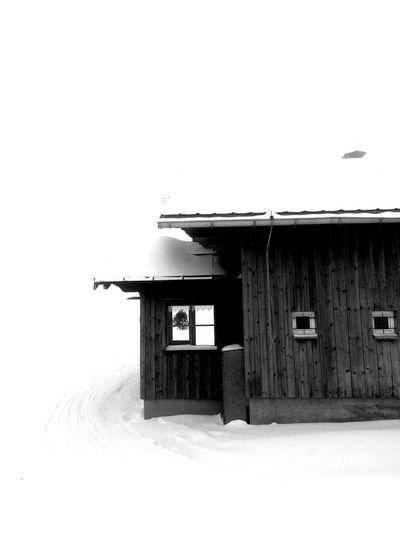 Bregenzerwald Bwcountry Blackandwhite